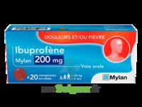 Ibuprofene Mylan 200 Mg, Comprimé Enrobé à SAINT-MARCEL