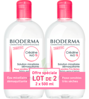 Crealine Ts H2o Solution Micellaire Sans Parfum Nettoyante Apaisante 2fl/500ml à SAINT-MARCEL
