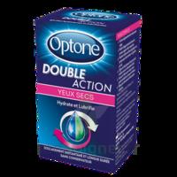 Optone Double Action Solution Oculaire Yeux Secs Fl/10ml à SAINT-MARCEL