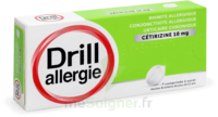 Drill 10 Mg Comprimés à Sucer Allergie Cétirizine Plq/7 à SAINT-MARCEL