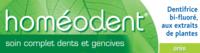 Boiron Homéodent Soin Complet Dents Et Gencives Pâte Dentifrice Anis T/75ml à SAINT-MARCEL