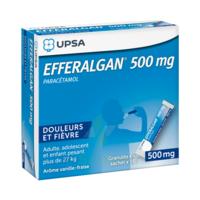 Efferalgan 500 Mg Glé En Sachet Sach/16 à SAINT-MARCEL