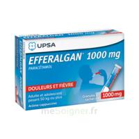 Efferalgan 1g Cappuccino Granules 8 Sachets à SAINT-MARCEL