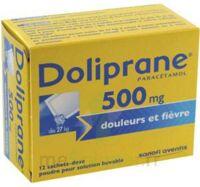 Doliprane 500 Mg Poudre Pour Solution Buvable En Sachet-dose B/12 à SAINT-MARCEL