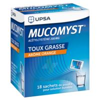 Mucomyst 200 Mg Poudre Pour Solution Buvable En Sachet B/18 à SAINT-MARCEL