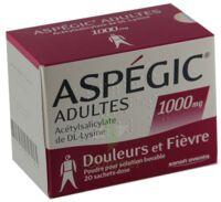 Aspegic Adultes 1000 Mg, Poudre Pour Solution Buvable En Sachet-dose 15 à SAINT-MARCEL