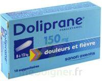 Doliprane 150 Mg Suppositoires 2plq/5 (10) à SAINT-MARCEL
