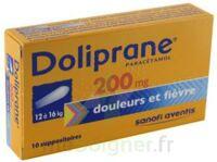 Doliprane 200 Mg Suppositoires 2plq/5 (10) à SAINT-MARCEL