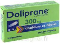 Doliprane 300 Mg Suppositoires 2plq/5 (10) à SAINT-MARCEL