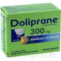 Doliprane 300 Mg Poudre Pour Solution Buvable En Sachet-dose B/12 à SAINT-MARCEL