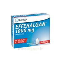 Efferalgan 1000 Mg Comprimés Pelliculés Plq/8 à SAINT-MARCEL
