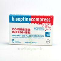 Biseptinecompress Compressses Impregnees, Bt 8 à SAINT-MARCEL