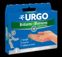 Urgo Brulures-blessures Petit Format X 6 à SAINT-MARCEL