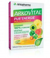 Arkovital Pur'energie Multivitamines Comprimés Dès 6 Ans B/30 à SAINT-MARCEL