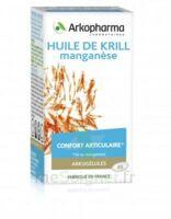 Arkogélules Huile De Krill Manganèse Caps Fl/45 à SAINT-MARCEL