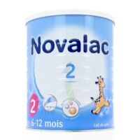 Novalac 2 Lait En Poudre 2ème âge B/800g* à SAINT-MARCEL