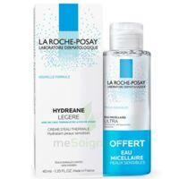 Hydreane Légère Crème Hydratante Peau Normale à Mixte 40ml+eau Micellaire 50ml à SAINT-MARCEL