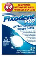 Fixodent Pro Comprimés Nettoyant Fraîcheur Longue Durée Pour Prothèse Dentaire B/54 à SAINT-MARCEL