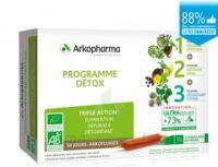 Arkofluide Bio Ultraextract Coffret Programme Détox 3x10 Ampoules/10ml