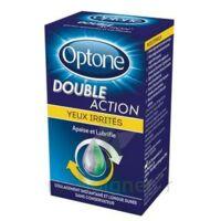 Optone Double Action Solution Oculaire Yeux Irrités Fl/10ml à SAINT-MARCEL