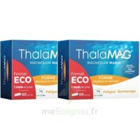 Thalamag Forme Physique & Mentale Magnésium Marin Fer Vitamine B9 Gélules 2b/60