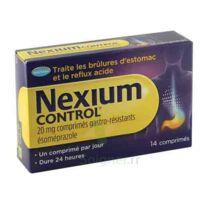 Nexium Control 20 Mg Comprimés Gastro-résistants Plq/14 à SAINT-MARCEL