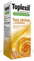 Toplexil 0,33 Mg/ml Sans Sucre Solution Buvable 150ml à SAINT-MARCEL