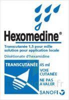 Hexomedine Transcutanee 1,5 Pour Mille, Solution Pour Application Locale à SAINT-MARCEL