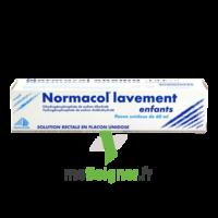 Normacol Lavement Enfants, Solution Rectale, Récipient Unidose à SAINT-MARCEL
