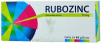 Rubozinc 15 Mg Gél 1plq/60 à SAINT-MARCEL