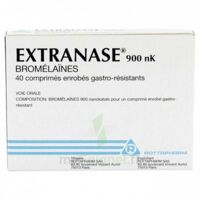 Extranase 900 Nk, Comprimé Enrobé Gastro-résistant à SAINT-MARCEL