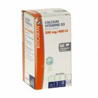 Calcium Vitamine D3 Biogaran 500 Mg/400 Ui, Comprimé à Sucer à SAINT-MARCEL