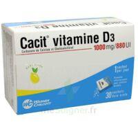 Cacit Vitamine D3 1000 Mg/880 Ui, Granulés Effervescents 90sach/8g à SAINT-MARCEL