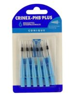 Crinex Phb Brossettes Coniques Blister De 6 à SAINT-MARCEL