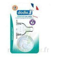 Dodie Sensation+ Tétine Plate Débit 2 Silicone 0-6mois à SAINT-MARCEL
