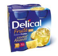 Delical Boisson Fruitee Nutriment Ananas 4bouteilles/200ml à SAINT-MARCEL