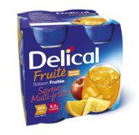 Delical Boisson Fruitee Nutriment Multi Fruits 4bouteilles/200ml à SAINT-MARCEL