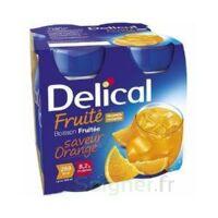 Delical Boisson Fruitee Nutriment Orange 4bouteilles/200ml à SAINT-MARCEL