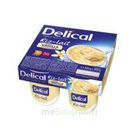 Delical Riz Au Lait Nutriment Vanille 4pots/200g à SAINT-MARCEL