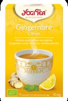 Yogi Tea Gingembre Citron à SAINT-MARCEL