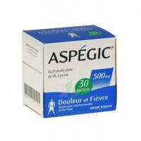 Aspegic 500 Mg, Poudre Pour Solution Buvable En Sachet-dose 30 à SAINT-MARCEL