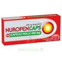 Nurofencaps 400 Mg Caps Molle Plq/10 à SAINT-MARCEL