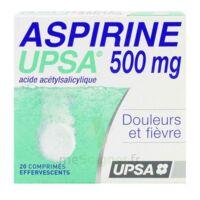 Aspirine Upsa 500 Mg, Comprimé Effervescent à SAINT-MARCEL