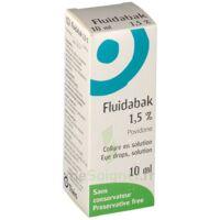 Fluidabak 1,5 %, Collyre En Solution à SAINT-MARCEL