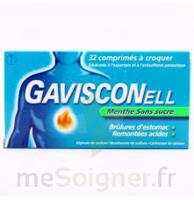 Gavisconell Coprimés à Croquer Sans Sucre Menthe édulcoré à L'aspartam Et à L'acésulfame Potas Plq/24 à SAINT-MARCEL