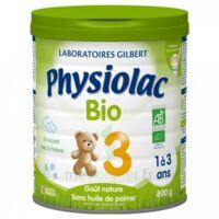 Physiolac Lait Bio 3eme Age 900g