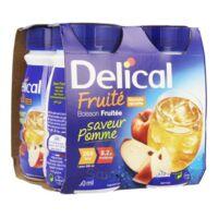 Delical Boisson Fruitee Nutriment Pomme 4bouteilles/200ml à SAINT-MARCEL