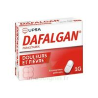 Dafalgan 1000 Mg Comprimés Pelliculés Plq/8 à SAINT-MARCEL