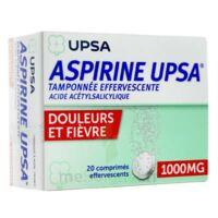 Aspirine Upsa Tamponnee Effervescente 1000 Mg, Comprimé Effervescent à SAINT-MARCEL