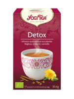 Yogi Tea Tisane Ayurvédique Détox Bio 17 Sachets/1,8g à SAINT-MARCEL